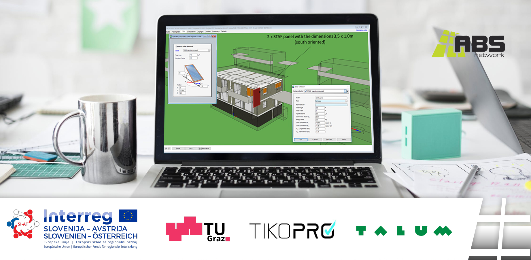 A building simulation software for determining the energy demand
